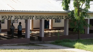 The very OU T patient department at the Nguludi Hospital